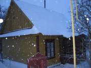 Деревянный дом в центре города Кобрина