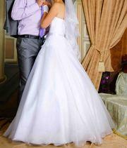 Продам очень нежное свадебное платье в Кобрине