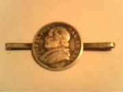 Манета на булавке 1866 г.