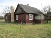 Жилой дом. Кобринский р-н. Брус / доска / шифер. 1 этаж. d150224