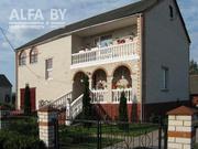 Жилой дом 2000 г.п. Кобринский район. Блок / шифер. 2 этажа. s132085