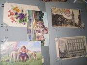 огромная коллекция открыток