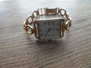 Часы СССР Луч с позолотой 17 камней