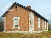 Жилой дом на хуторе. 1894 г.п. Кобринский р-н. Кирпич / шифер. r162835